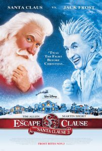 The Santa Clause 3 Poster