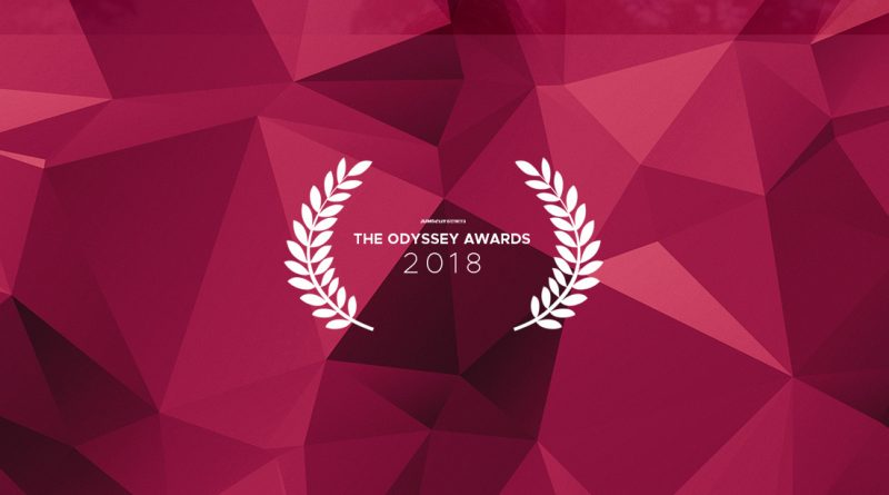 Odysseys Awards 2018 Nominations